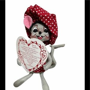Annalee For Love Mouse Doll 6 inches with recipe